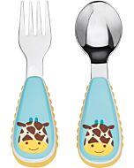 Skip Hop: Zootensils Fork & Spoon Set - Giraffe - 16% OFF!!