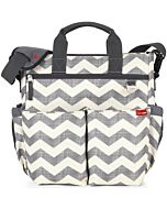 Skip Hop: Duo Signature Diaper Bag - Chevron - 15% OFF!!