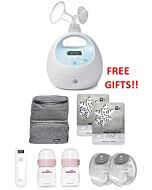 Spectra: Spectra S1 Electric Double Breastpump - 47% OFF!! + FREE Gifts worth RM497!