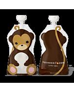 Squooshi: Large Food Storage Pouch (Monkey) 130ml - 20% OFF!!