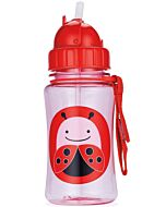 Skip Hop: Zoo Straw Bottle - Ladybug - 15% OFF!
