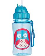 Skip Hop: Zoo Straw Bottle - Owl - 15% OFF!