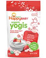 Happy Baby: Happy Yogis - Organic Yogurt Snacks - Strawberry