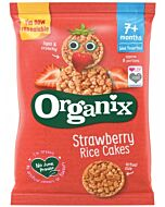 Organix Finger Foods Strawberry Rice Cakes 50g (7+ Months)