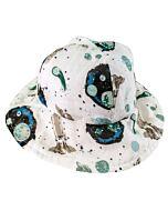 Bebe Au Lait: Muslin Sun Hat (Wide Brim & Breathable) - Space - 20% OFF!!
