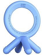 Comotomo Silicone Baby Teether - Blue - 17% OFF!!