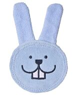 MAM Oral Care Rabbit Teething Glove (0+ Months) - Blue - 15% OFF!!