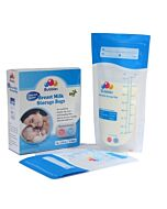 Bubbles: Thermal Sensor Double Ziplock Breastmilk Storage Bags 7oz (25pcs) - 31% OFF!!
