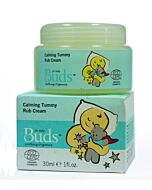 Buds Soothing Organics: Calming Tummy Rub Cream 30ml - 15% OFF!