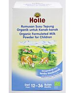 Holle Organic Biodynamic Formulated Cow Milk Powder for Children 600g (2 x 300g) (1-3 years old)