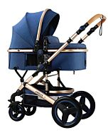 CHILUX V1.6 Multifunctional Stroller (0-3 years) - Blue