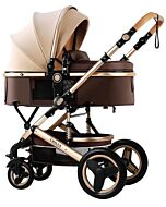 CHILUX V1.6 Multifunctional Stroller (0-3 years) - Brown