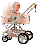 CHILUX V1.6 Multifunctional Stroller (0-3 years) - Pink