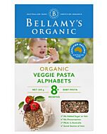 Bellamy's Organic Vegie Pasta Alphabets 200g - 10% OFF!!
