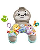 Fisher-Price: Music & Vibe Sloth Tummy Wedge (0+ months) - 15% OFF!!