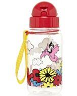 Babymel: Zip & Zoe Drinking Bottle with Straw - Floral Multi - 15% OFF!!